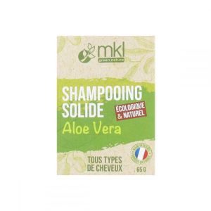 mkl Green Nature - Shampooing solide aloe vera - 65 g