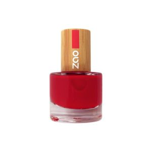 Zao - Vernis à ongles rouge carmin N° 650 - 8 ml