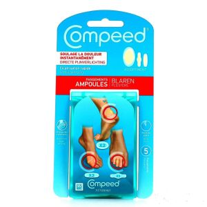 Compeed - Assortiment pansements ampoules - 5 unités