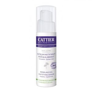 Cattier - Sérum matifiant Soie Lactée - 30 ml