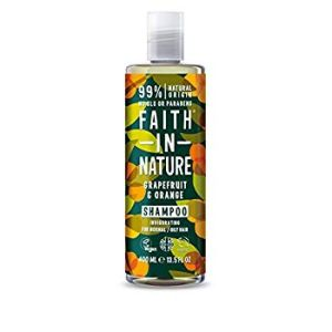 Faith in Nature - Shampooing pamplemousse et orange - 400 ml
