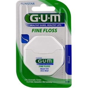 GUM - Fil dentaire Fine Floss waxed - 55 m