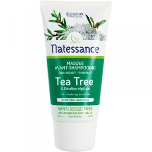 Natessance - Masque avant-shampooing tea tree - 150 ml