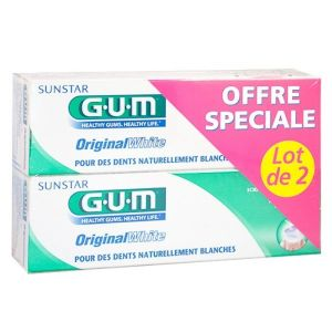 GUM - Dentifrice Original White