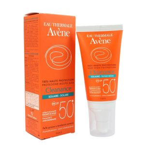 Avène - Cleanance solaire spf 50 - 50ml