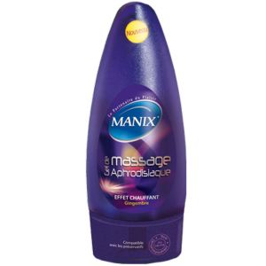 Manix - Gel de massage aphrodisiaque gingembre - 200ml
