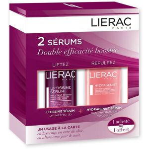 Lierac - Coffret 2 sérums hydragenist Liftissime