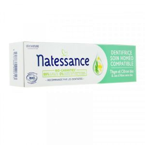Natessance - Dentifrice soin homéo compatible - 75 ml