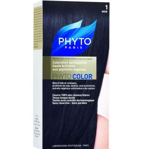 Phyto - Phytocolor 1 Noir coloration soin permanente