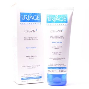 Uriage - Cu Zn gel nettoyant anti-irritations - 200 ml