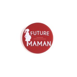 Future Maman - Badge rouge
