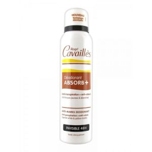 Rogé Cavailles - Déodorant ABSORB+ invisible 48h