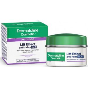 Dermatoline cosmetic - Lift Effect anti-rides nuit - 50ml