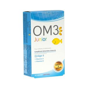 OM3 Junior - 45 capsules goût orange