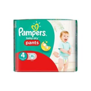 Pampers - Baby dry Pants - Taille 4 - 23 couches