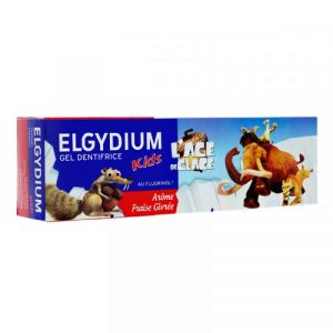 Elgydium - Gel dentifrice kids 2/6 ans - 50 ml