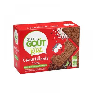 Good Goût Kidz - Croustillants cacao - 6 sachets de 4 croustillants