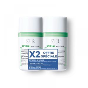 SVR - Spirial Roll-on déodorant anti-transpirant - 2 x 50 ml