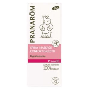 Pranarom - Spray massage Confort digestif - 15ml