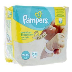 Pampers - Premium protection micro - 24 couches