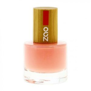 Zao - Vernis à ongles rose bonbon N°654 - 8 ml
