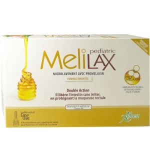 Aboca - Melilax Pediatric - 6 microlavements
