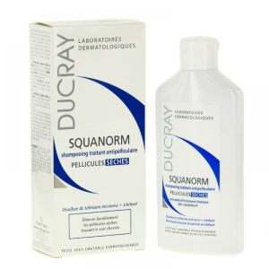 Ducray - Squanorm shampooing traitant antipelliculaire pellicules sèches - 200ml