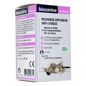 Biocanina - Recharge diffuseur anti-stress - 45 ml