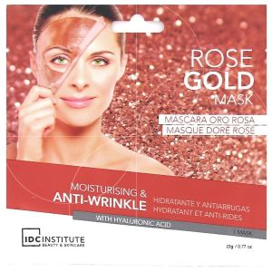 IDC Institute - Masque doré rosé - 1 masque