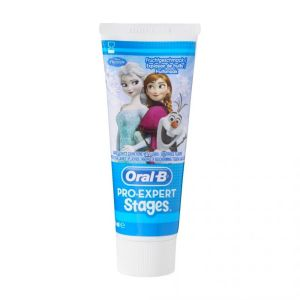 Oral B - Dentifrice anti-caries Pro-expert stages reine des neiges - 75ml