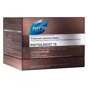 Phyto - Phytologist 15 traitement antichute absolu - 12 fioles