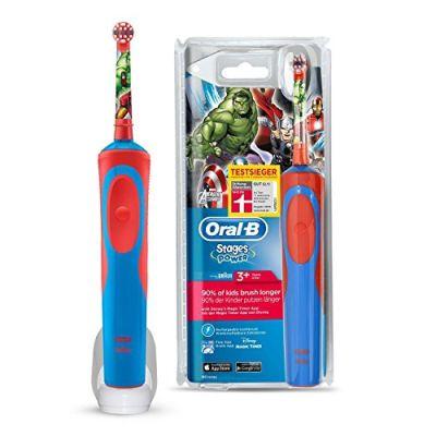 prix d 39 oral b kids stages power avengers 1 brosse dents. Black Bedroom Furniture Sets. Home Design Ideas